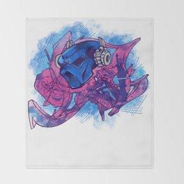 Chev1 peace Throw Blanket