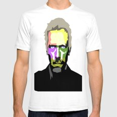DR HOUSE White SMALL Mens Fitted Tee