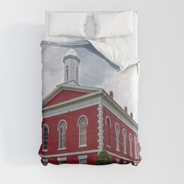 Iron County Courthouse in Ironton, Missouri Comforters