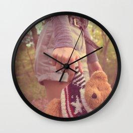 my little friend Wall Clock