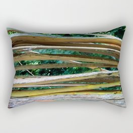 Cracking Branch Rectangular Pillow
