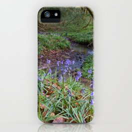 Bluebells by the Brook iPhone Case