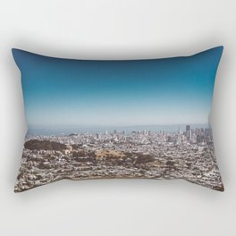 San Francisco View II Rectangular Pillow