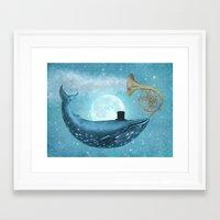 cloud Framed Art Prints featuring Cloud Maker  by Terry Fan