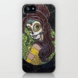 Sugar Skull Belle iPhone Case