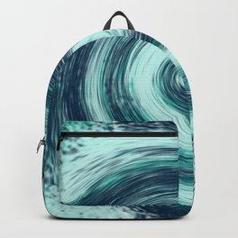 deep vortex of water Backpack