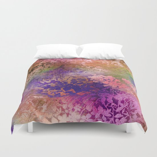 fall whirlwind Duvet Cover