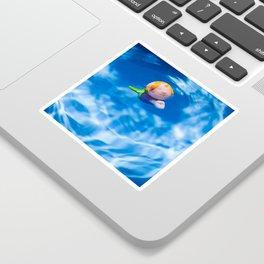 Mermaid in the pool Sticker