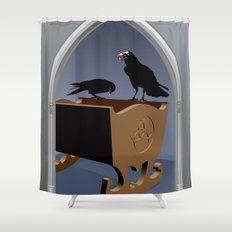The king's gift Shower Curtain