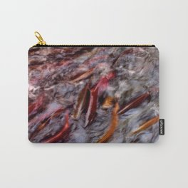 A bind of salmon Carry-All Pouch