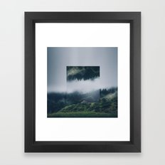 I get nervous.  Framed Art Print