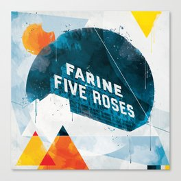Farine five roses Canvas Print