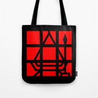 silent hill Tote Bags featuring Silent Hill - The Final Save by Versiris