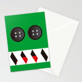 It's a green Mosnter! Stationery Cards