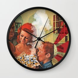 Poisoned Minds Wall Clock