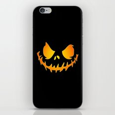 Evil Black Jack iPhone & iPod Skin