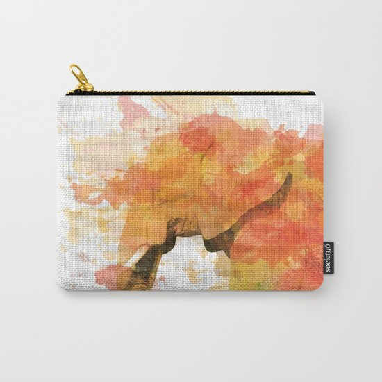 Positive elephant Carry-All Pouch