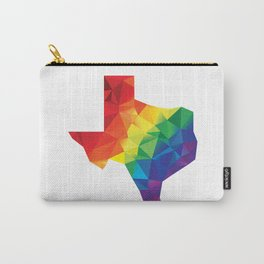 Geometric Pride Texas Carry-All Pouch