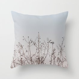 Visual Poetry Throw Pillow