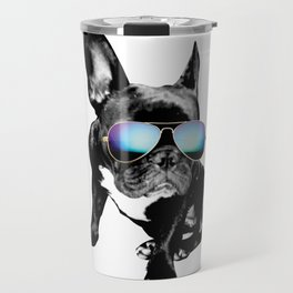 SUMMER FRENCH BULLDOG Travel Mug