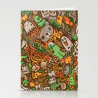 wasted rita Stationery Cards featuring Wasted Days by Craig Watkins