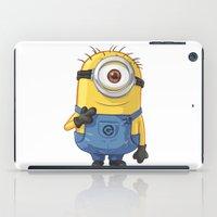 carl sagan iPad Cases featuring Minion - Carl by Konstantin Veter