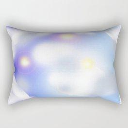Clouds of father time Rectangular Pillow