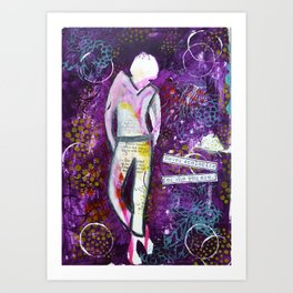 Never Apologize for Who You Are Art Print