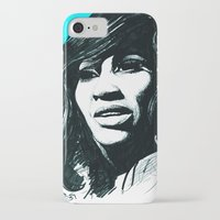 tina crespo iPhone & iPod Cases featuring Tina Turner by ChrisGreavesCreative