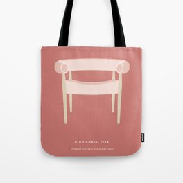 Mid-Century Ring Chair Tote Bag