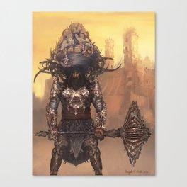 Akali – Warrior Monk Canvas Print