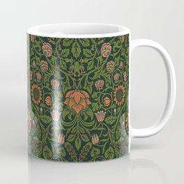 Violet and Columbine - William Morris Coffee Mug