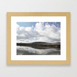 Watergrove Reservoir Framed Art Print