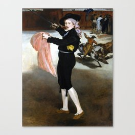 Édouard Manet  Mademoiselle V. in the Costume of an Espada Canvas Print