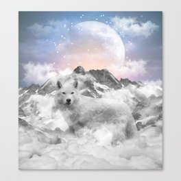 The Soul That Sees Beauty Canvas Print