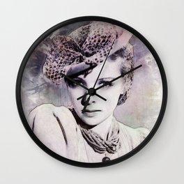 Ida Lupino Wall Clock