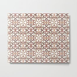 Geometric Fall Metal Print