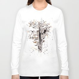 Squirrel in the Old Tree Long Sleeve T-shirt
