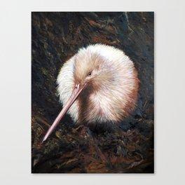 """""""White Kiwi"""" Canvas Print"""