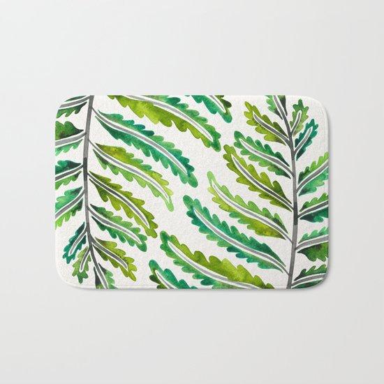 Fern Leaf – Green Palette Bath Mat