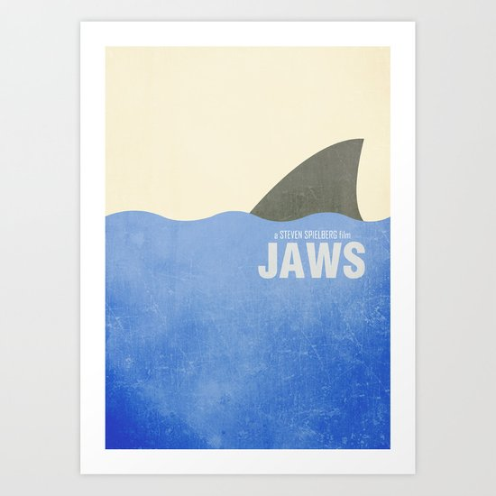 Jaws - Minimal Art Print