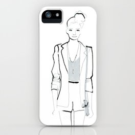 Naiomi iPhone Case