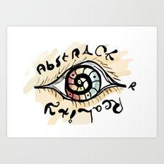 Abstract or Reality  Art Print