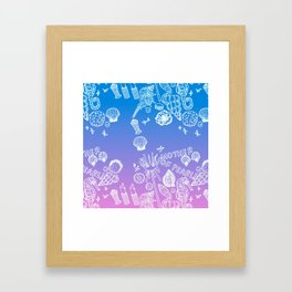 Mother of Pearl! Framed Art Print