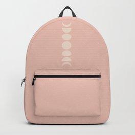 Minimal Moon Phases - Desert Rose Backpack