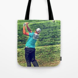 The Golf Swing Tote Bag