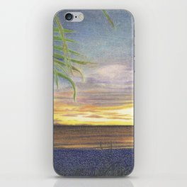 Beautiful Sunset at the Beach iPhone Skin
