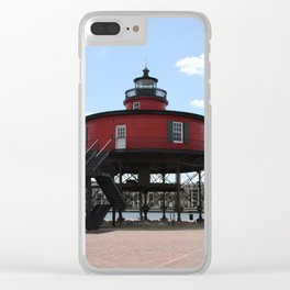Seven Foot Knoll Lighthouse Clear iPhone Case