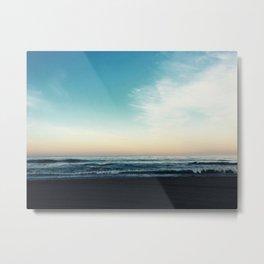 The Morning Horizon Metal Print