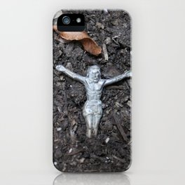 Jesus From The Earth iPhone Case